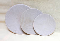 Тарелка деревянная, 12см