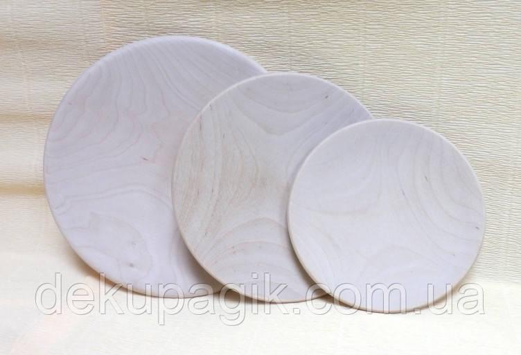 Тарелка деревянная, 20см