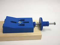 Кондуктор под косой шуруп (под сверло 9,5 мм.). Фиксатор растояния круглый