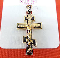 Интернет-магазин бижутерии. Кресты позолоченные, ладанки оптом Xuping. 243