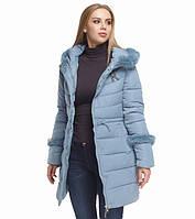 Куртка женская зимняя голубая Tiger Force, фото 1