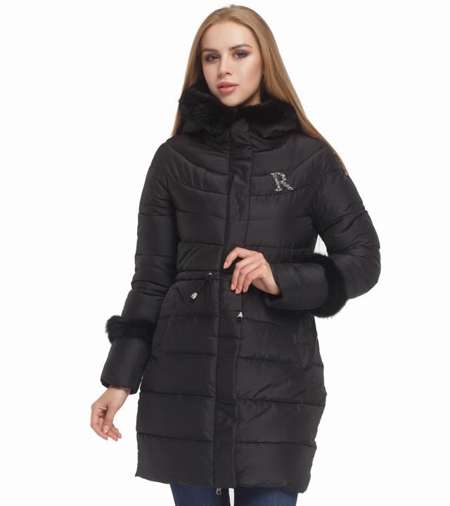 Куртка теплая женская черная Tiger Force