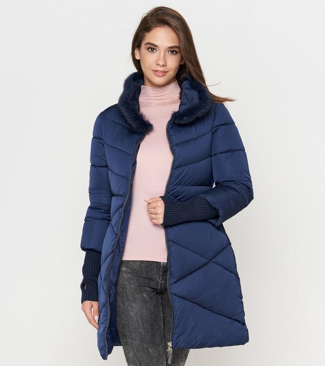 Куртка зимняя женская синяя Tiger Force