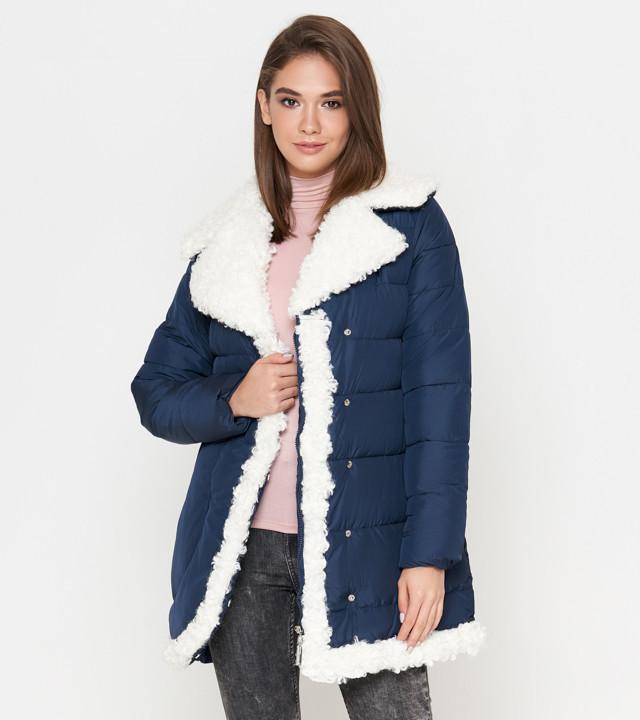 Куртка женская зимняя синяя Tiger Force