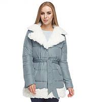 Зимняя куртка женская голубая Tiger Force, фото 1