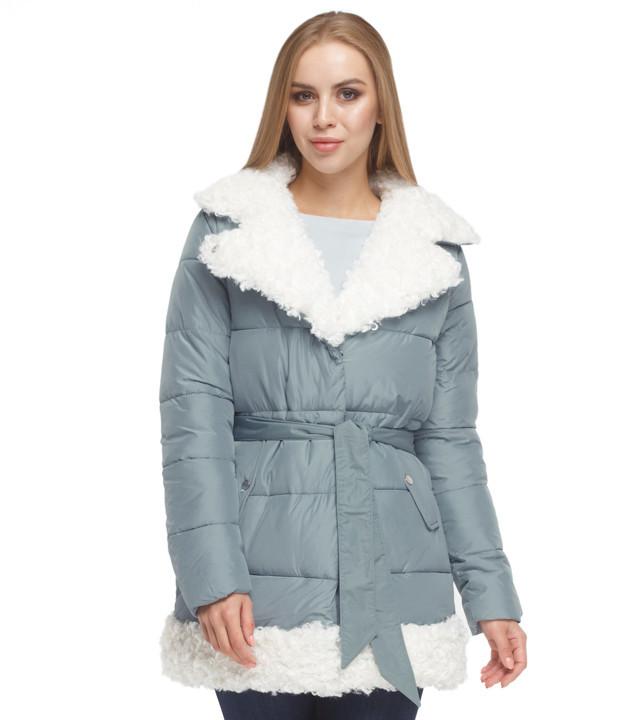 Зимняя куртка женская голубая Tiger Force