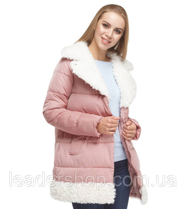 Куртка женская зимняя пудра Tiger Force