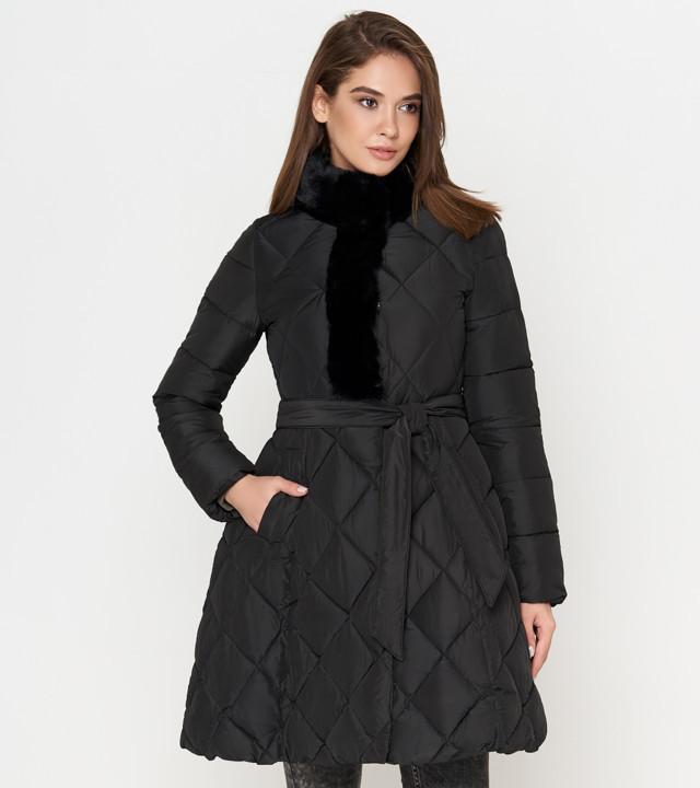 Зимняя куртка женская черная Tiger Force