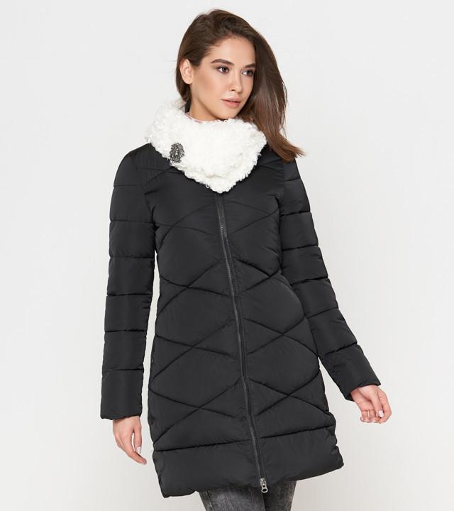 Женская теплая куртка черная Tiger Force