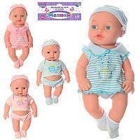 Детский интерактивный пупс 226B-1-532-NLimo Toy, 30 см, 2 вида(2 цвета)