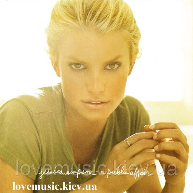 Музичний сд диск JESSICA SIMPSON A public affair (2007) (audio cd)