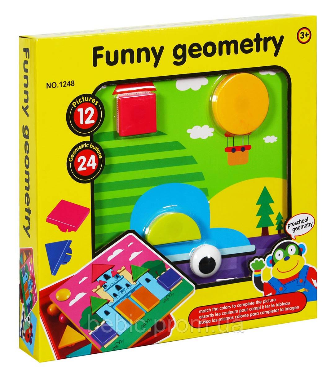 Первая мозаика для малышей Геометрические фигуры