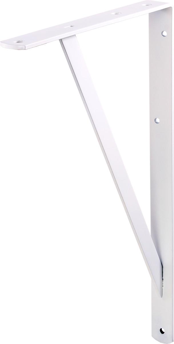 Стальной кронштейн Промышленный Larvij 200x30x300 мм Белый (L7450WH)