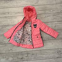 Весенняя куртка на девочку от 8 до 12 лет, есть замеры