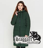 Утепленная зимняя куртка 25595 хаки Braggart Youth, фото 1