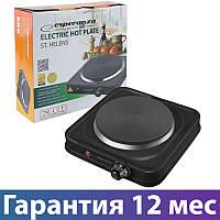 Электроплита Esperanza EKH003K, настольная кухонная плита электрическая, електроплита