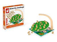 Детская настольная игра балансир Кувшинки Janod J02690