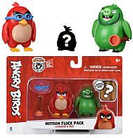 Игровая фигурка Jazwares Angry Birds ANB Mission Flock Ред и Леонард