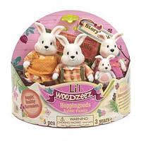 Фигурки кроликов Семья Кроликов Li'l Woodzeez 6006M