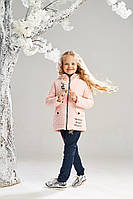 Нежная весенняя куртка на девочку от 5 до 9 лет, есть замеры