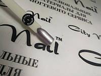 Гель-лак блестящий City Nail PLATINUM №1 серебристый  6мл арт.ГлPl1-6