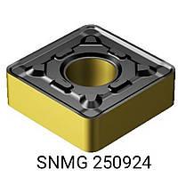SNMG 250924 NC 3030 KORLOY пластина твердосплавная квадрат двухсторонний