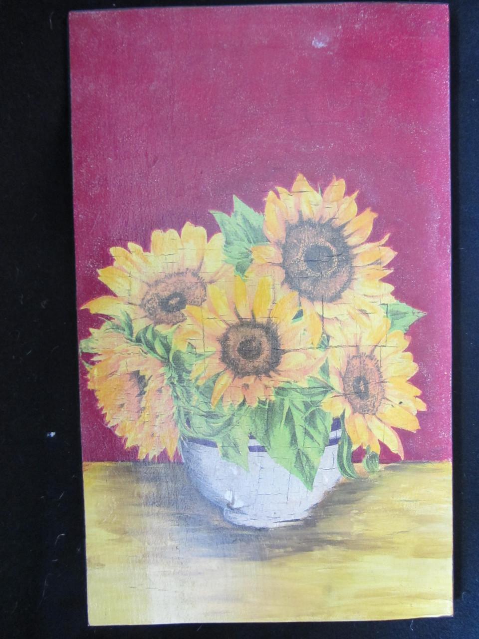 Картина в технике декупаж, 28,5х17,5 см, 105\90 (цена за 1 шт.+15 грн)