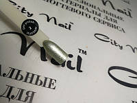 Гель-лак торговой марки City Nail серия PLATINUM №2 зеленое серебро 6мл арт.ГлPl2-6