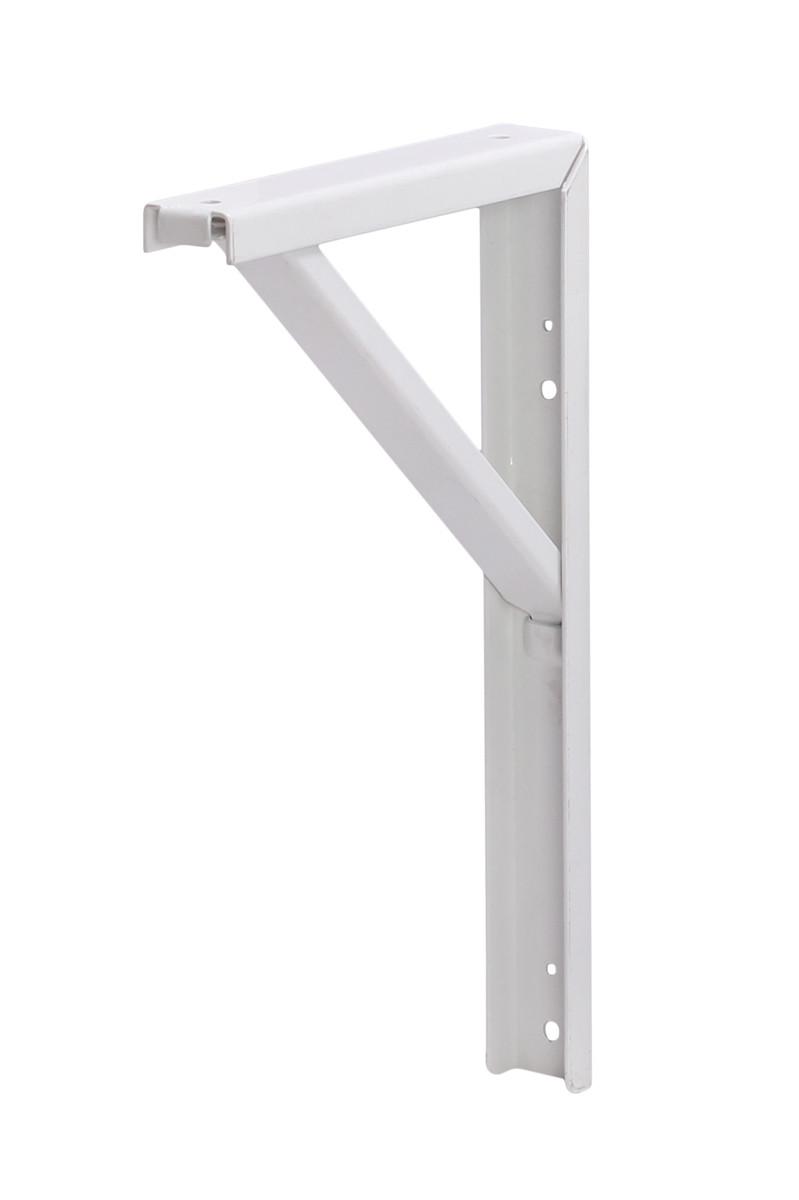 Стальной кронштейн Робост Larvij 300х180 мм Белый (L7471WH)