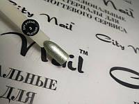 Гель-лак торговой марки City Nail серия PLATINUM №2 нежно зеленый серебристый 10мл арт.ГлPl2-10