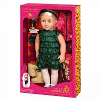 Большая кукла Одри-Энн с книгой Our Generation DELUXE BD31013ATZ