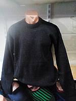 Мужской свитер однотонный шерстяной