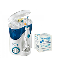 Waterpik White Ultra WP-100E2+средство для чистки ирригатора 150 г ЕС