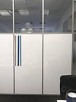 Маркерная магнитная плёнка для стекла Белая Силикон Melmark CK Без клея 120 х 100 см. Глянцевая