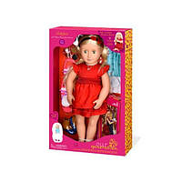Кукла большая детская Джинджер с одеждой и аксессуарами, 46 см, Our Generation BD31045Z