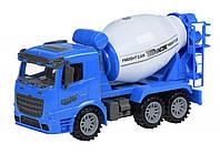 Машинка инерционная Same Toy Truck Бетономешалка синяя 98-612Ut-2