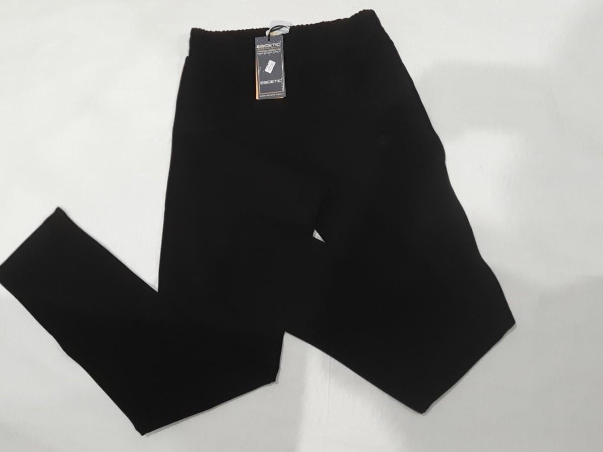 Женские спортивные штаны демисезонные черного цвета 1XL Escetic Турция
