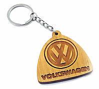 """Брелок деревянный """"Volkswagen"""" ольха (32696Q)"""