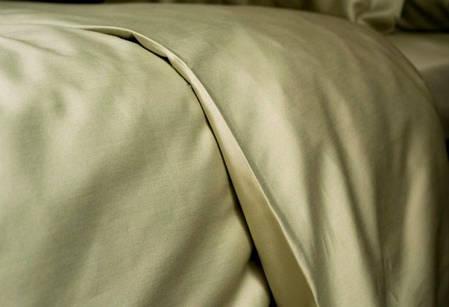 Постельное белье однотонный сатин Olive ТМ Moonlight Семейный, фото 2