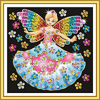 Картины из блесток и пайеток Набор для творчества Сказочная принцесса Sequin Art SA1336