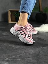 Женские кроссовки Adidas Magmur Runner x Naked Pink Адидас Магмур розовые, фото 3
