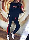 Теплый спортивный костюм женский на флисе, фото 4