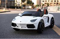 Детский электромобиль Ламборджини  FT1188  белая