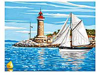 Рисование по номерам Набор для творчества Что идет в открытое море Sequin Art SA1106