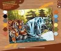 Картина по номерам Беззаботность Sequin Art SA1524