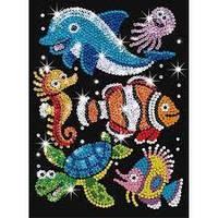 Картина из блесток Морские друзья Sequin Art RED SA0908