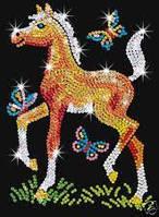Набор для творчества Лошадка Фрея Sequin Art RED SA0905