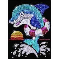 Набор для детского творчества Дельфин Джек Sequin Art RED SA1304