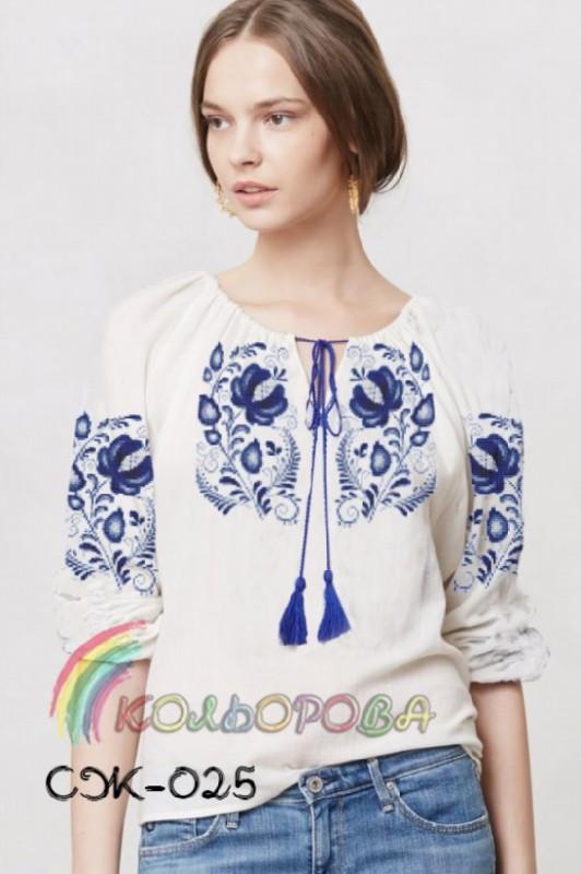 Заготовка жіночої сорочки (СЖ-025)