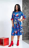 Красивое платье с модным рисунком